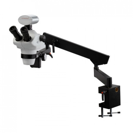 Z850 Zoom Stereo Microscope On Articulating Arm (Flex-Arm) Stand