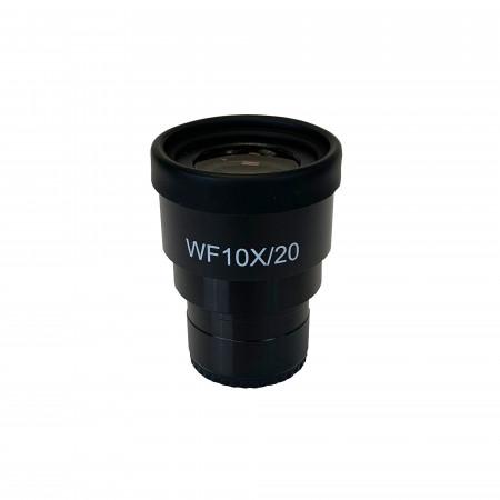 WF10x/20mm Focusing Eyepiece with Roll Down Eyeguard
