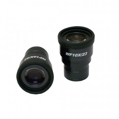 WF10x/23mm Focusing Eyepiece with Roll Down Eyeguard