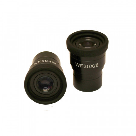 WF30x/8mm Focusing Eyepiece with Built-In Diopter Adjustment and Eyeguard
