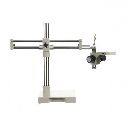 Roller Bearing Microscope Stand with Dual Boom Arm