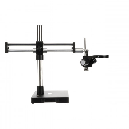 ESD-Safe Roller Bearing Microscope Stand with Dual Boom Arm